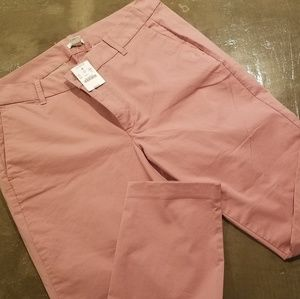 JCrew Rose capri pants